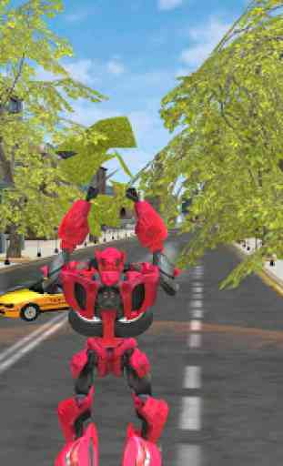 Super Robot Car Transforme Futuristic Supercar 3