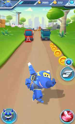 Super Wings: Jett Run 4