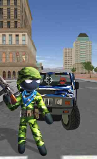 US Army Counter Stickman Rope Hero Crime OffRoad 1