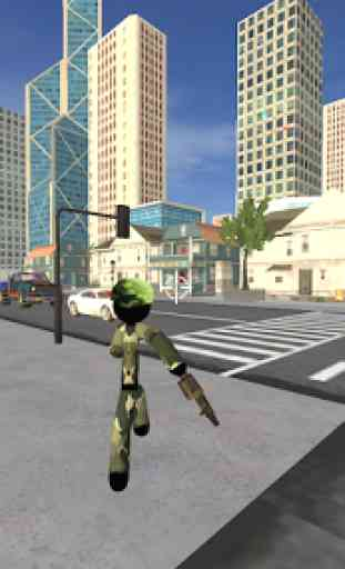 US Army Counter Stickman Rope Hero Crime OffRoad 2