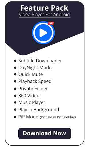Video Player para Android: Todo Format Video Play 1