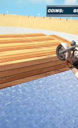 agua Surfista Bicicleta de praia Acrobacias Corrid 2