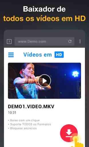 App Baixador de Vídeos em HD - 2019 1