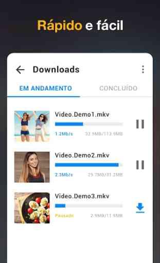 App Baixador de Vídeos em HD - 2019 2