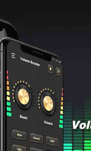 Aumentador de volume - amplificador de volume 2