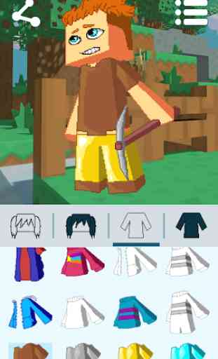 Avatar Maker: Cube Games 1