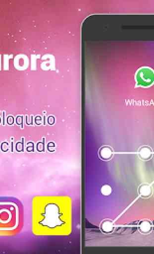Bloqueio - AppLock Aurora 1