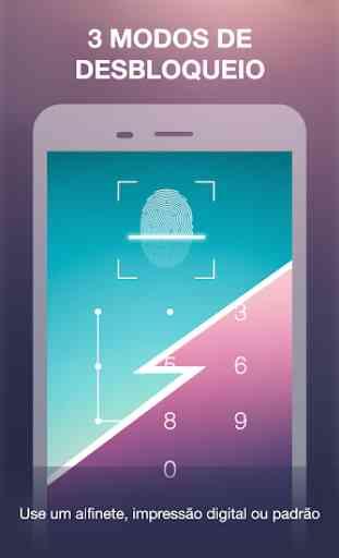 Bloqueio De Aplicativo Com Impressão Digital 3