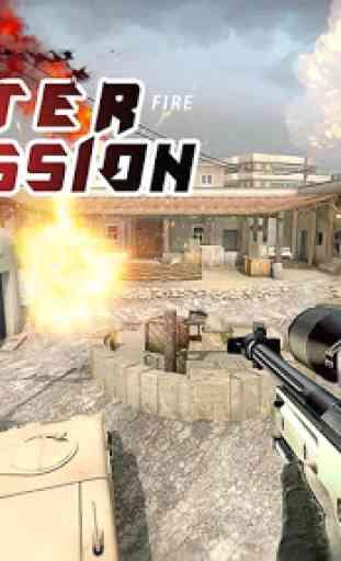 Counter Terrorist Mission Fire 4