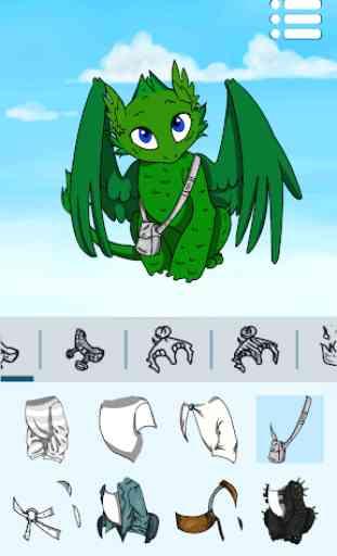 Criador de Avatares: Dragões 1