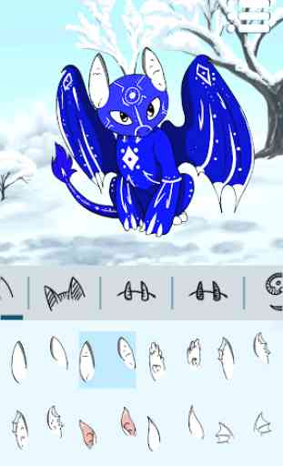 Criador de Avatares: Dragões 2