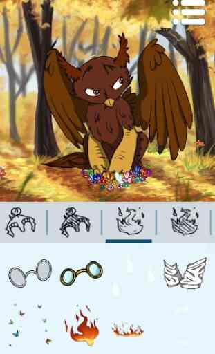 Criador de Avatares: Dragões 4