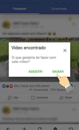 Downloader De Vídeo Para Facebook - FB Downloader 2