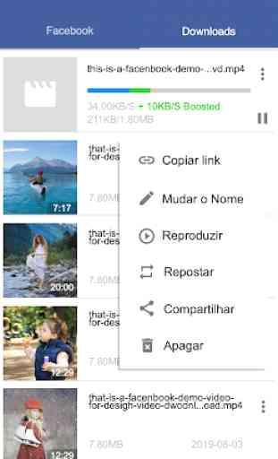 Downloader De Vídeo Para Facebook - FB Downloader 3
