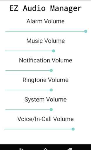 Easy Audio Manager 1
