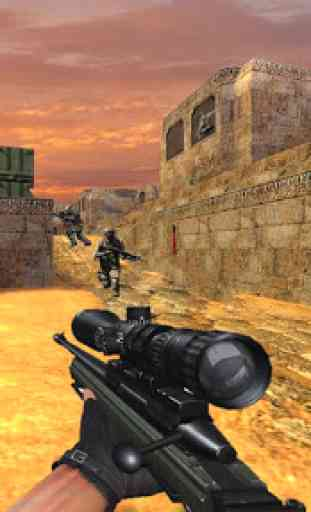 FPS Modern Commando Critical Strike 2019 2