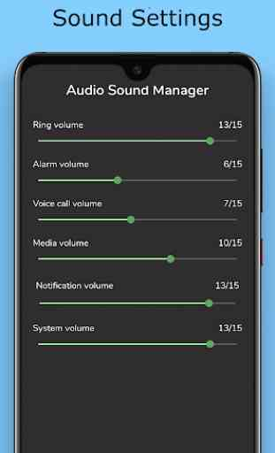 Hide photo video :Audio Sound Manager 1