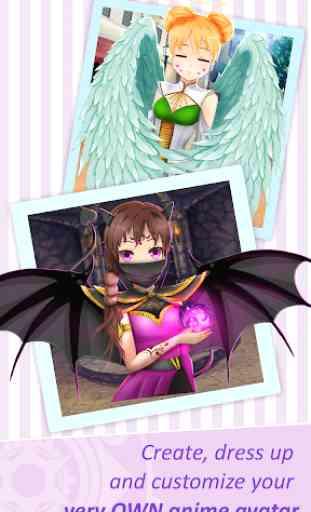 Jogos de criar avatares anime 1