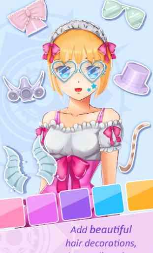 Jogos de criar avatares anime 2