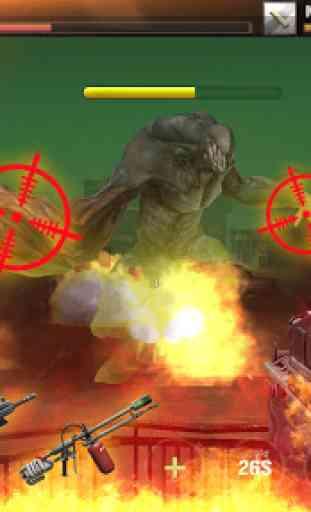 jogos offline: zombie defense shooting 1