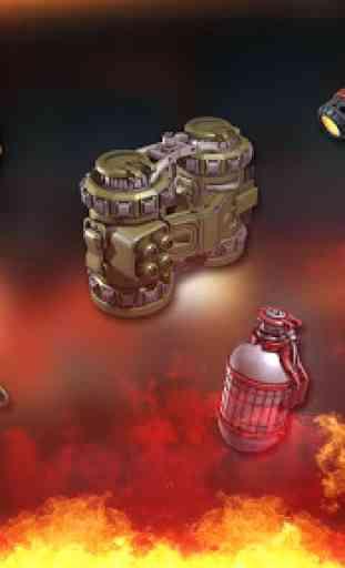 jogos offline: zombie defense shooting 3
