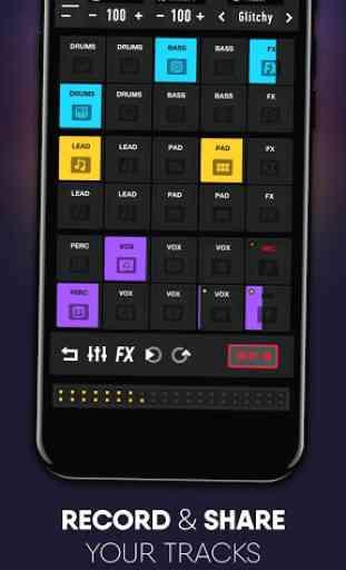 MixPads 2-Drum Pad DJ Music Mixer 3
