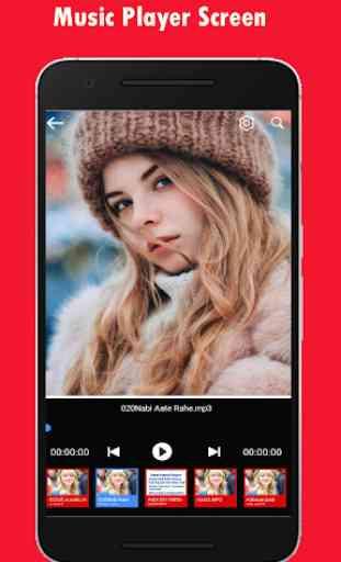 My Photo On Music Player 2