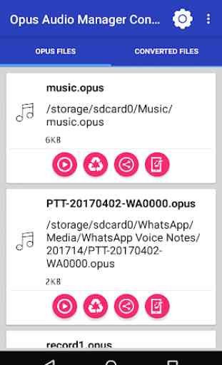Opus Audio Manager And Converter 1