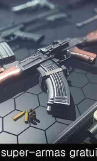 Overkill Strike: fury shooting beast 2