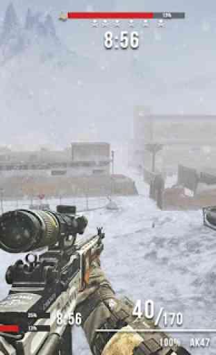 Rules of Modern World War: Free FPS Shooting Games 2