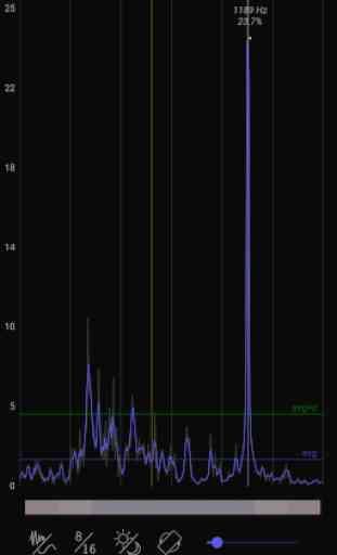 Spectrum RTA - audio analyzing tool 4
