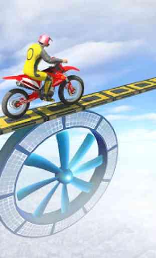 Stunt Bike Racing Tricks 2 - Ramp Bike Impossible 2