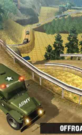 US Army Ambulance Driving Game 1