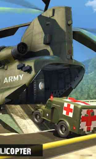 US Army Ambulance Driving Game 2