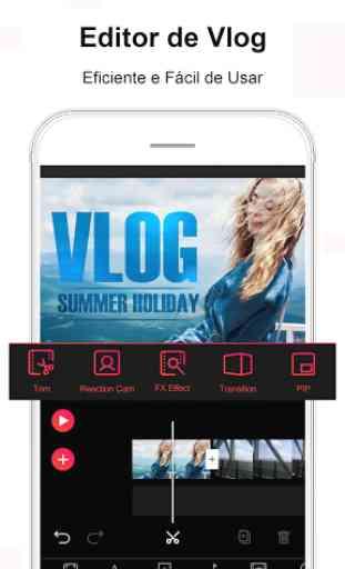 Vlog Star para YouTube - editor de vídeo gratuito 2