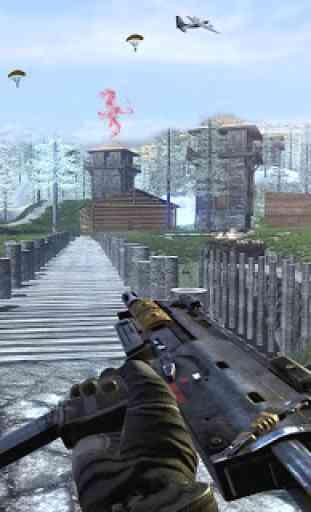 Atirador de Sobrevivência Americano Offline FPS 1