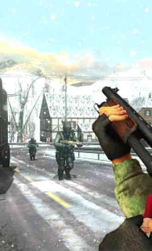 Atirador de Sobrevivência Americano Offline FPS 2