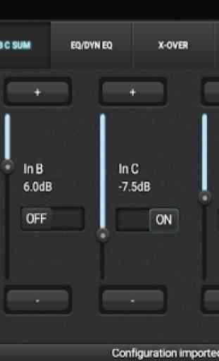 DCX.Client (DCX2496 remote control app) 3