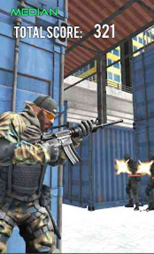 Delta Force Fury: Shooting Games 4