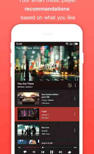 Free Music for Youtube Player: Red+ 4