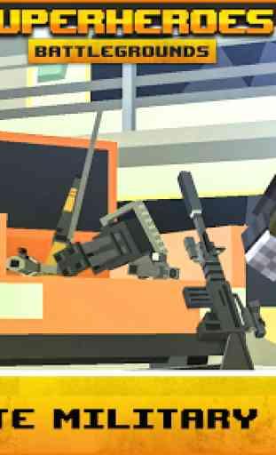 Pixel Battlegrounds Royale: O melhor battle royale 3