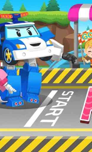 Robocar Poli Racing Popular Game - Alphabet 1