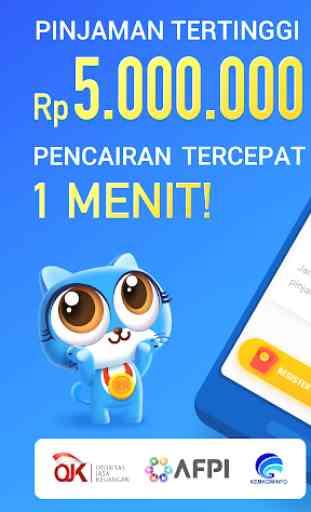 Rupiah Cepat- Pinjaman Uang Tunai Kredit Dana Cash 1