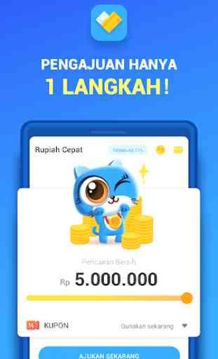 Rupiah Cepat- Pinjaman Uang Tunai Kredit Dana Cash 3
