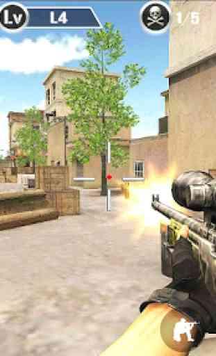 US Sniper Assassin Shoot 4