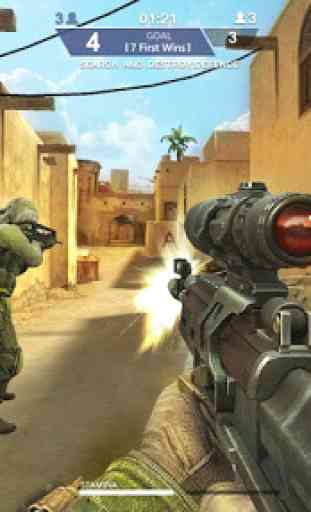 Counter Shooter Mission War 1
