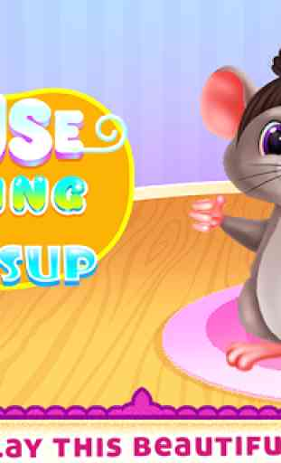 Cute Mouse Caring And Dressup 1