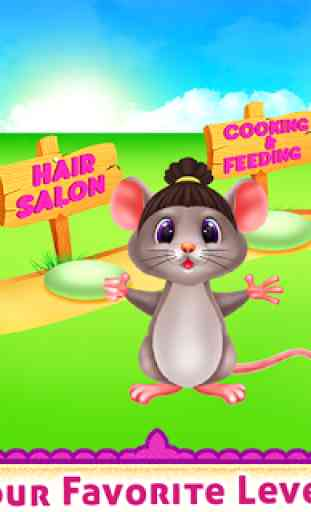 Cute Mouse Caring And Dressup 2