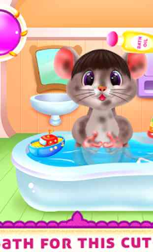 Cute Mouse Caring And Dressup 3