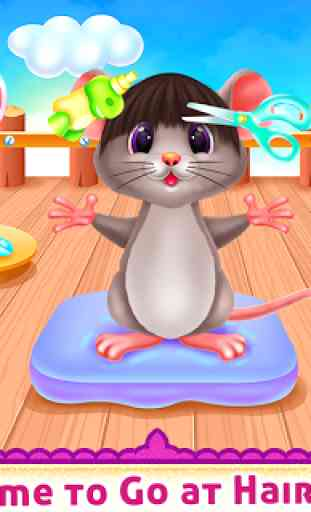 Cute Mouse Caring And Dressup 4